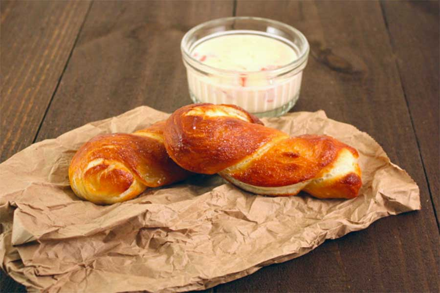 Soft And Chewy Pretzel
