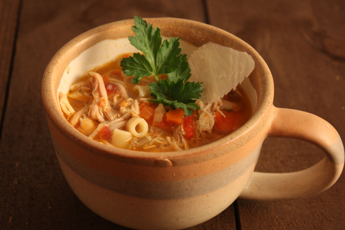 Sicilian Chicken Noodle Soup - My grandfather came to the states from Sicily when he was 16 years old.  He made the BEST chicken noodle soup I have ever eaten. by Don't Sweat The Recipe