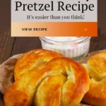 Soft and Chewy Pretzel Pin