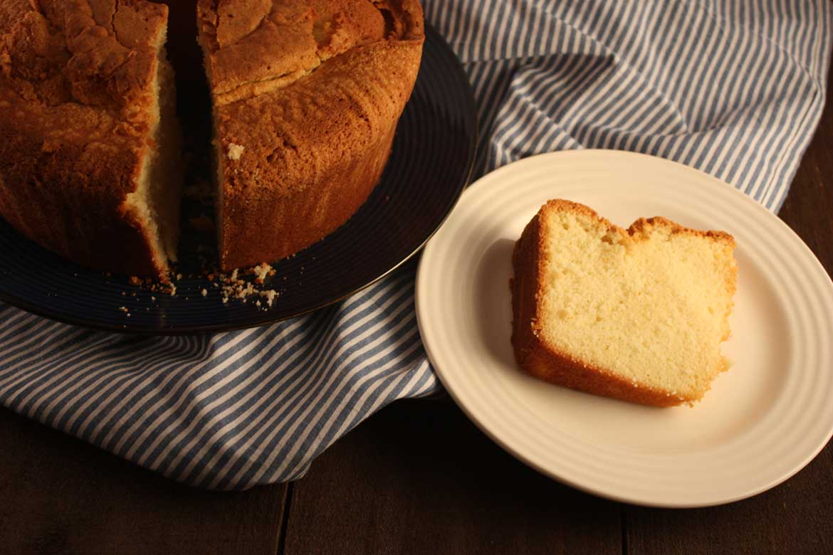 Mom's Sour Cream Pound Cake - by Don't Sweat The Recipe