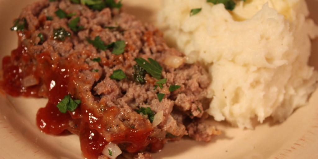 Old School Meatloaf Recipe- Moist, tender, and flavorful traditional meatloaf!