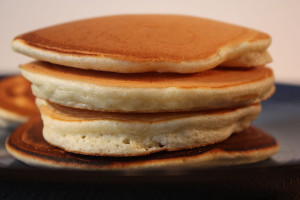 The Best Ever Pancakes - You will never purchase another box/package pancake mix again.  These pancakes are light, fluffy and just slightly crisp around the edges. by Don't Sweat The Recipe