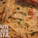 Cajun Chicken Pasta - Incredibly flavorful, super quick meal that's ready in under 20 minutes!