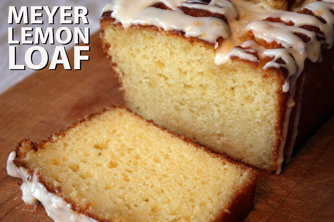 Meyer Lemon Loaf - If you have never tried meyer lemons (like me) you are really missing out. by Don't Sweat The Recipe