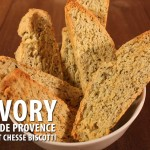 Savory Herb and Cheese Biscotti - Great with soups and salads! A crunchy savory twist on the classic biscotti.