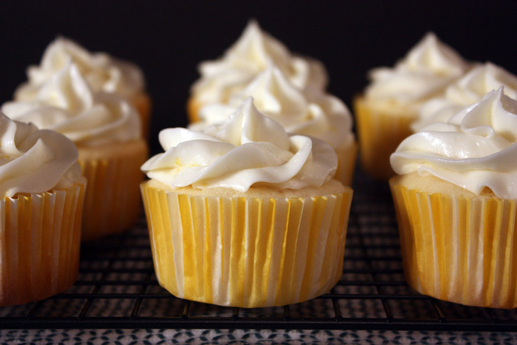 Lemon Cupcakes - Don't Sweat The Recipe