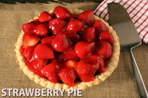 Fresh Strawberry Pie - Sweet and refreshing strawberry pie. by Don't Sweat The Recipe