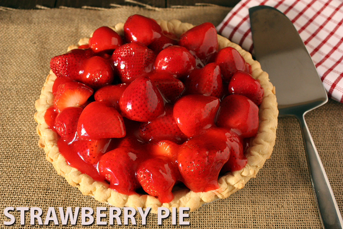 Fresh Strawberry Pie - Sweet and refreshing strawberry pie. by Don't ...