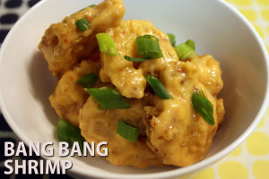 Bang Bang Shrimp - Why not stay in and save some money?  Try this Bang Bang Shrimp recipe at home. by Don't Sweat The Recipe