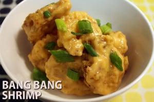 Bang Bang Shrimp - Crispy, sweet and spicy shrimp. Appetizer, party, dinner or game day snacks! Bonefish Grill copycat recipe. #shrimp #fried #bangbang