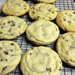 Chewy Chocolate Chip Cookies - The biggest, chewy, chocolate chip cookies ever!