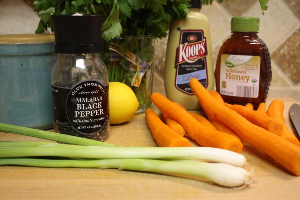 Carrot Salad ingredients