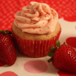 Fresh Strawberry Cupcakes - No jello or food coloring in these cupcakes. Perfect strawberry flavor! by Don't Sweat The Recipe
