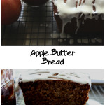 Full of Fall flavors, moist and so scrumptious Apple Butter Bread recipe. Super easy to make. #applebutter #bread