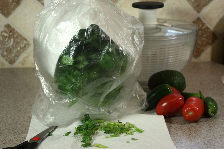 How to Store Fresh Herbs - Keep them fresher WAY longer.  by Don't Sweat The Recipe
