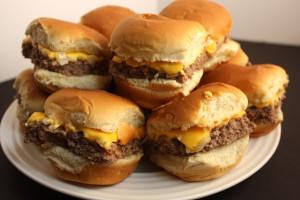 Oven Baked Sliders -These taste just like Krystal's or White Castle hamburgers. Super easy to make!