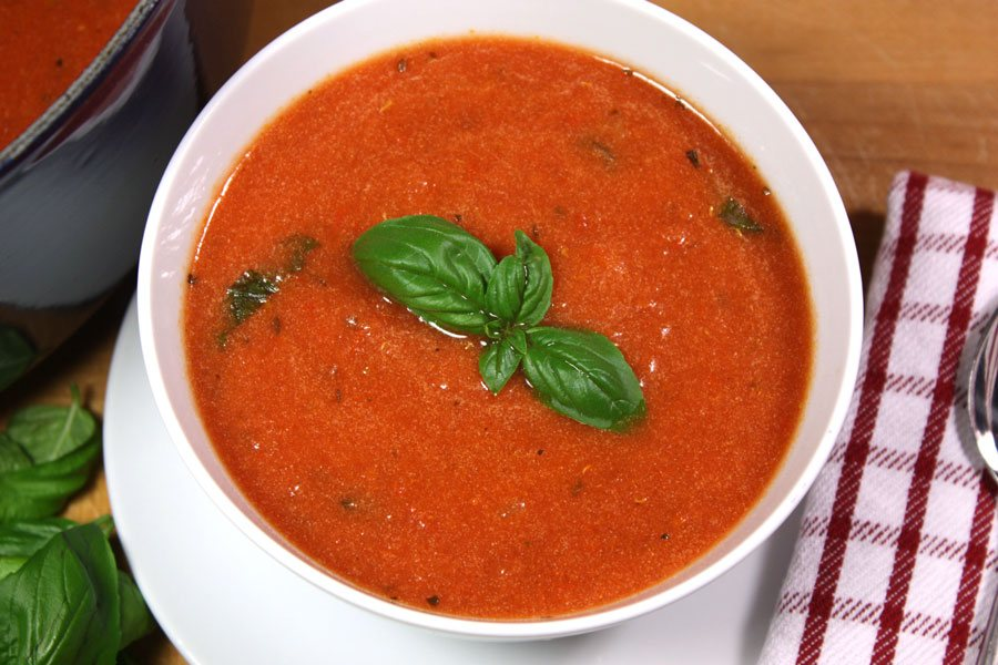 creamy tomato basil soup don 39 t sweat the recipe. Black Bedroom Furniture Sets. Home Design Ideas