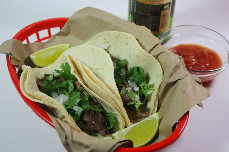 Carne Asada Street Tacos - These whip up quickly and are so full of authentic flavor.