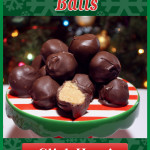 Peanut Butter Balls are the perfect Holiday treat to share with friends and neighbors. Only four ingredients and always a favorite. #holiday #treats