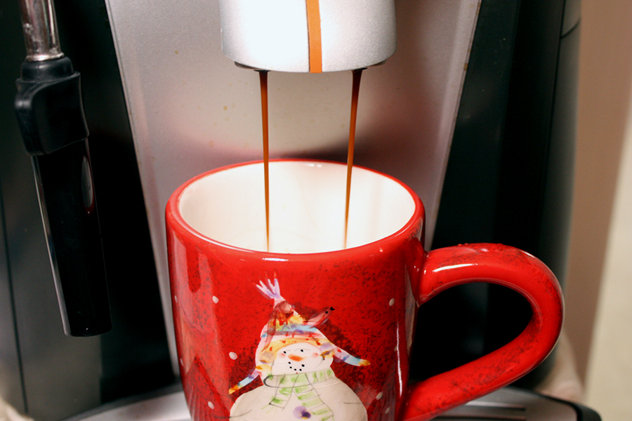 Copycat Holiday Spice Flat White - Now you can make your own at home! by Don't Sweat The Recipe