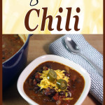 Vegetarian Chili - So easy and delicious you won't even miss the beef! #vegetarian #chili #recipe #comfortfood