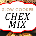 Slow Cooker Chex Mix - You are warned, best Chex mix recipe! This is way too easy to whip up and have readily available! #chexmix #holidays #snack #recipe