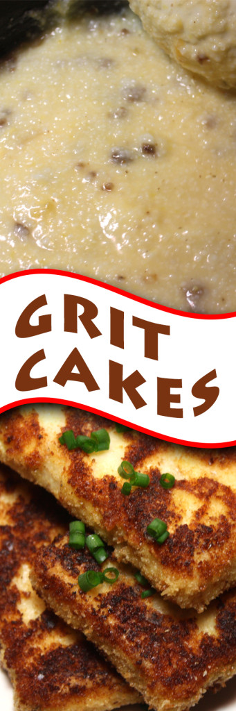 Fried Grit Cakes