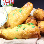 Beer Battered Fish - The best beer battered fish recipe! Crispy, light and moist.
