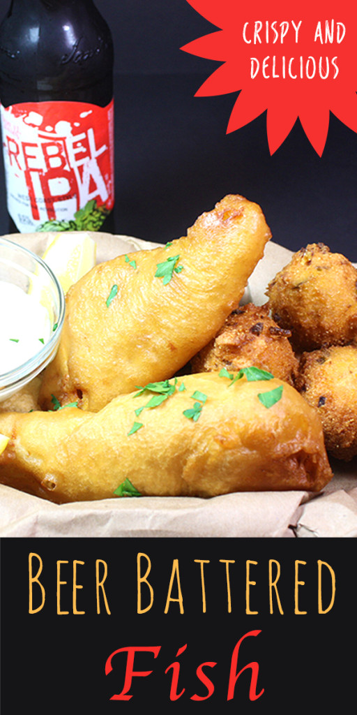 Beer Battered Fish - Stay in, save money and fry your own fish. It always taste better!