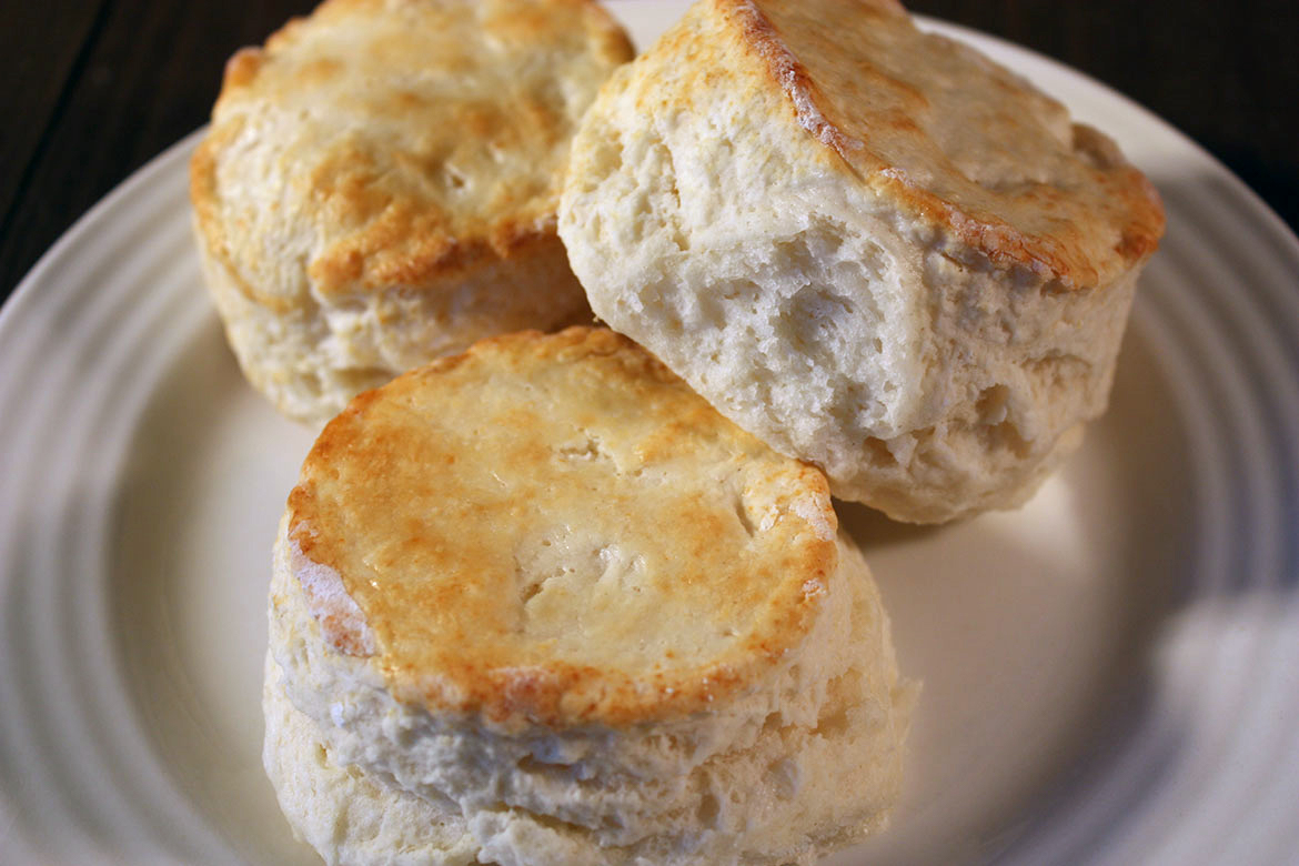 Best Homemade Biscuits - The only biscuit recipe you will ever need! Tender, flaky, fluffy and so tasty!