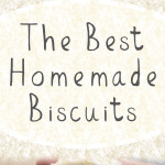 Tender, flaky, fluffy and so tasty! This recipe for the Best Homemade Buttermilk Biscuits is the only one you will ever need! #biscuits #homemade
