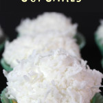 Coconut Cupcakes - From scratch coconut cupcakes. Coconut lovers look no further this is THE recipe! #easter #recipe #cupcakes #coconut