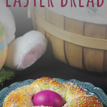 Italian Easter Bread - This bread bakes up incredibly soft and slightly sweet. It's perfect for Easter morning!