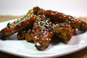 These baked sweet and spicy wings are a must try recipe!
