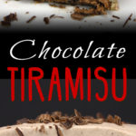 Chocolate Tiramisu - A delicious twist on a classic elegant dessert! This stuff is to DIE for!! #tiramisu #chocolate