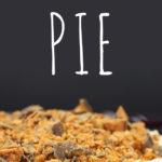 No Bake Butterfinger Pie - This pie was a HUGE hit! Rich, creamy and indulgent. #dessert #nobake #summer #butterfinger