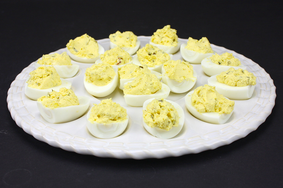 Amazing Deviled Eggs - 3 Ingredient deviled eggs. This is our favorite deviled egg recipe, it's always requested!
