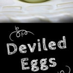 Amazing Deviled Eggs - 3 Ingredient deviled eggs. This is our favorite deviled egg recipe, it's always requested! #recipe #picnic #bbq #sides #keto