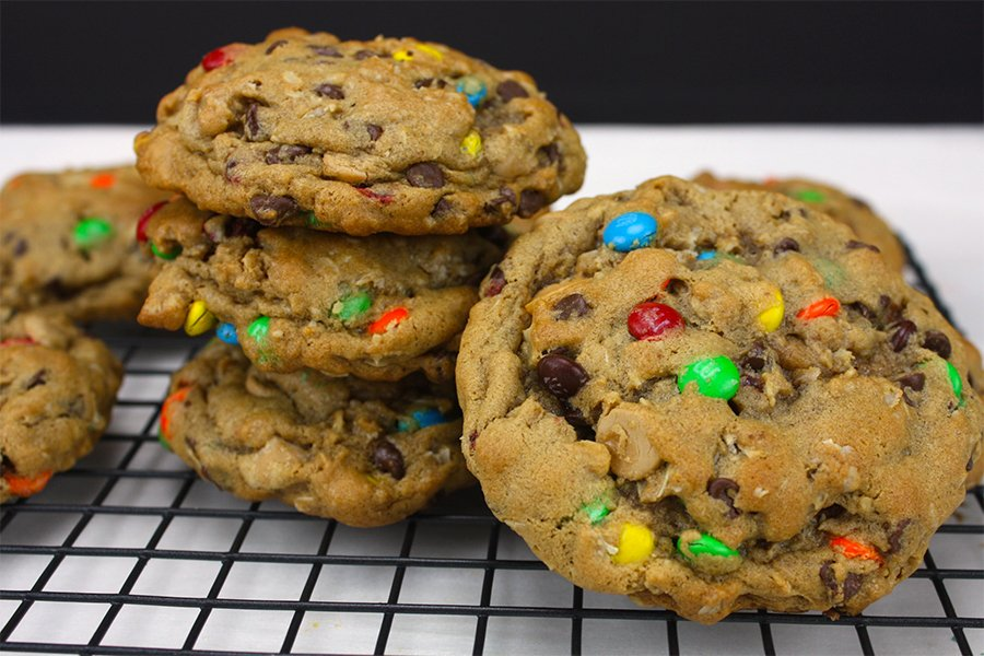 Monster Cookies - Thick, soft, chunky and absolutely our favorite recipe!