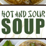 Hot and Sour Soup - Better than take out! Fast, simple and packed with flavor. This is the most amazing hot and sour soup I have ever eaten! #chinese #soup #recipe #vegetarian