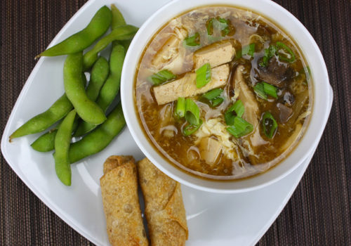 Hot and Sour Soup - Better than take out! Fast, simple and packed with flavor.