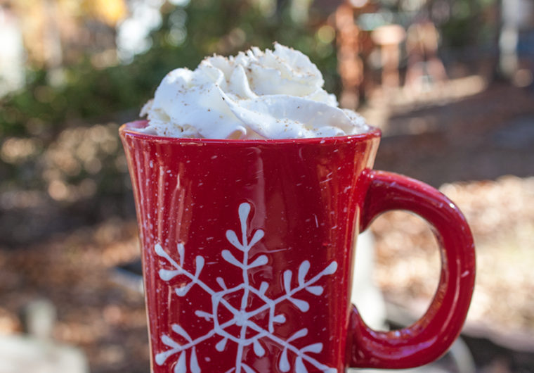 Eggnog Latte - Careful this latte is addictive! It's WAY than Starbucks!