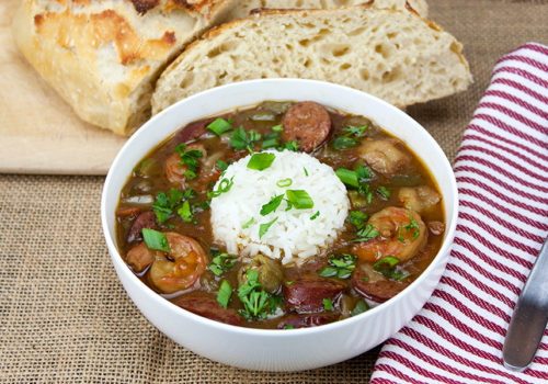 Shrimp and Sausage Gumbo - Our favorite gumbo! This is to die for!