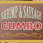 Shrimp and Sausage Gumbo with Okra is a favorite New Orleans dish at home! Easy to make and full of authentic flavors. #gumbo #cajun
