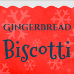Loaded with gingerbread flavor and ready to dip in that piping hot coffee. Perfect gingerbread biscotti treats or gifts for the holidays! #gingerbread #recipe