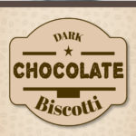 A scrumptious indulgent treat, double chocolate biscotti. Enjoy one with your afternoon coffee anytime of the year. #biscotti #darkchocolate