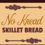 No-Knead Skillet Bread - Comes together in minutes! Yes, you CAN have warm, crusty homemade bread for dinner tonight! #bread #recipe #frypan #skillet