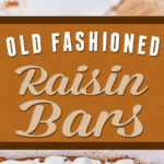 Moist, with a tender crumb, plump raisins and perfectly spiced Old Fashioned Raisin Bars with icing! #recipe #dessert