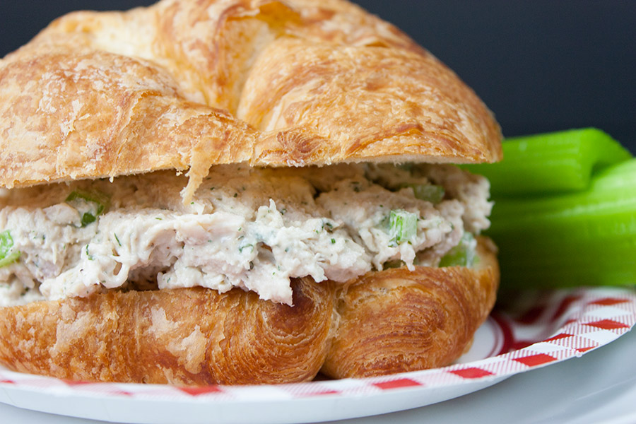 Savory Chicken Salad Quick And Easy Don T Sweat The Recipe