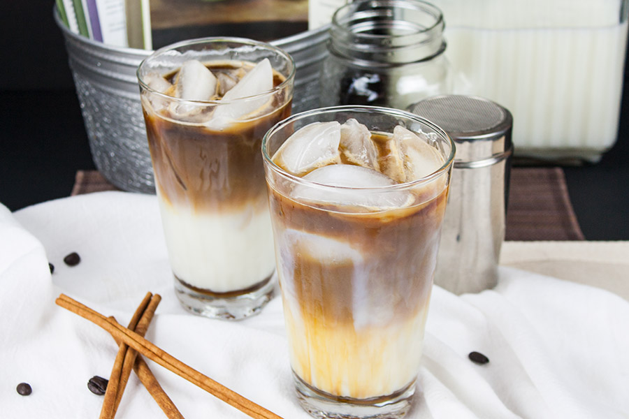Iced Cinnamon Macchiato - Beat the heat, save money with my copycat version of Starbucks Iced Cinnamon Macchiato!